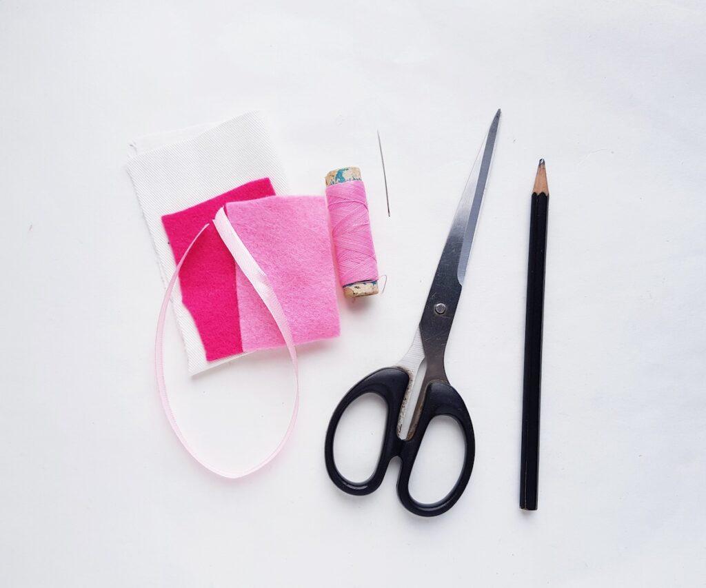 Fabric Bookmark Supplies