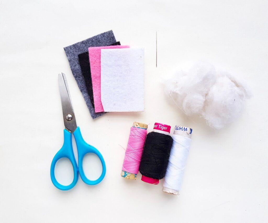 Felt sewn Bat Plush Supplies