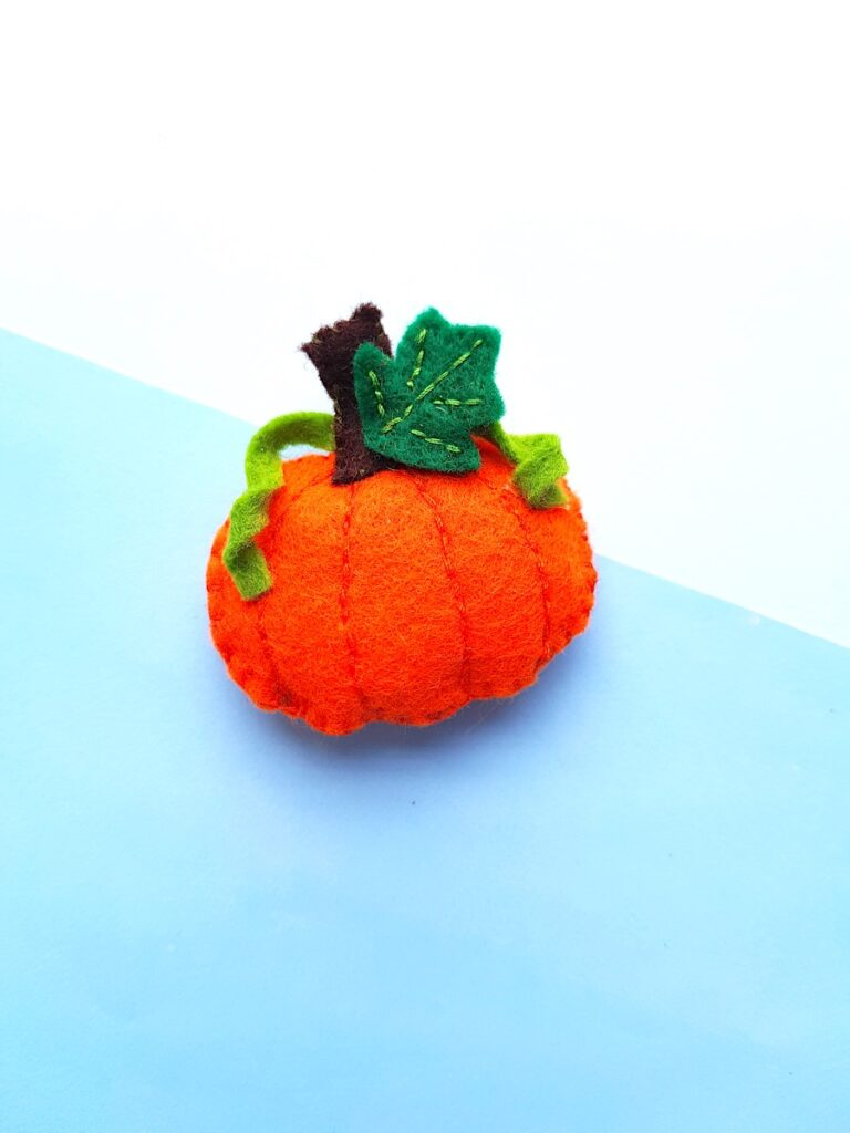 Cute Felt Pumpkin Plush softie