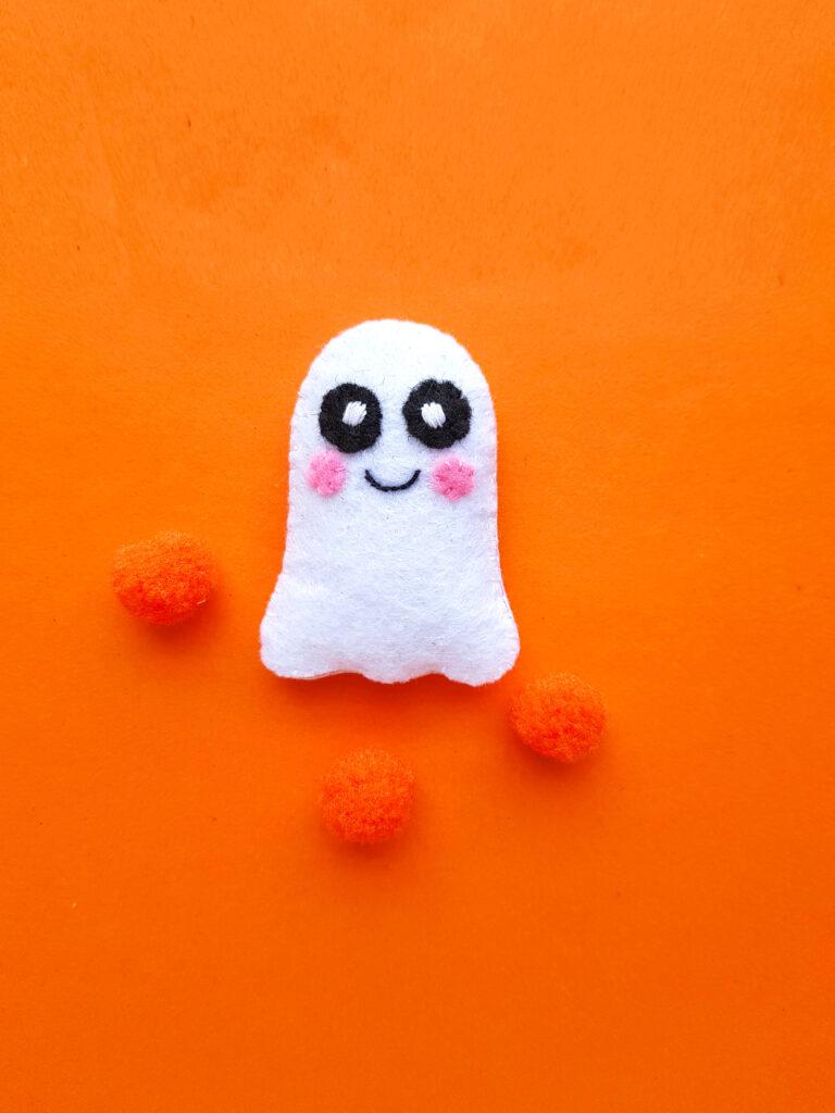 white felt ghost