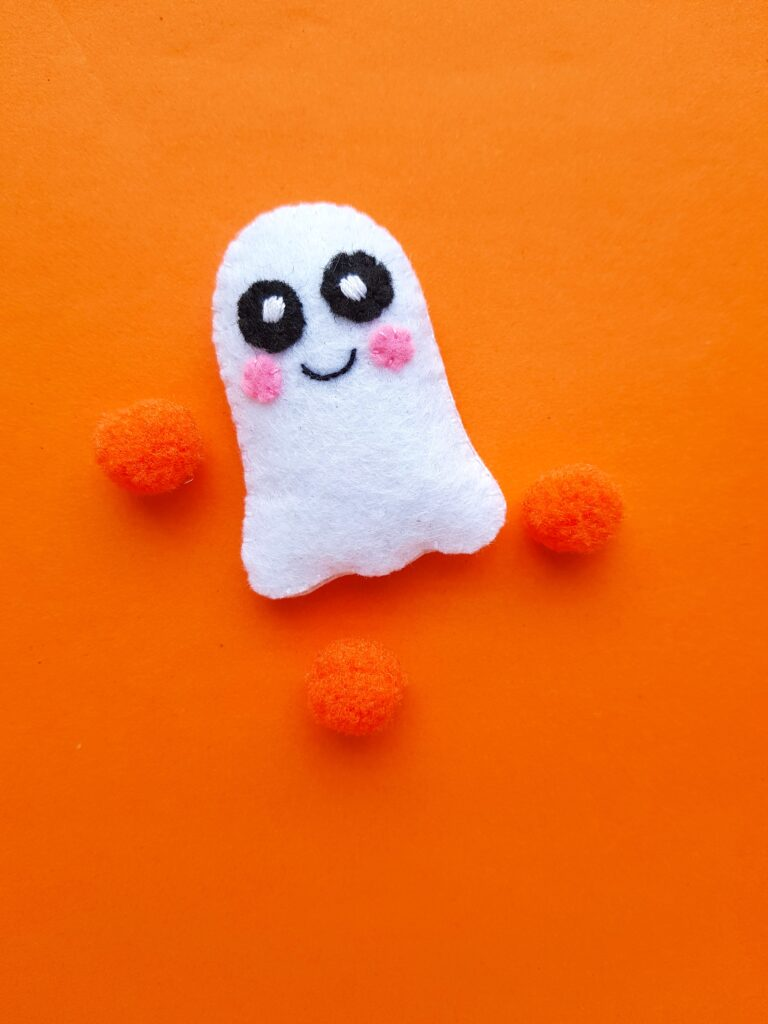 Cute Ghost felt plush