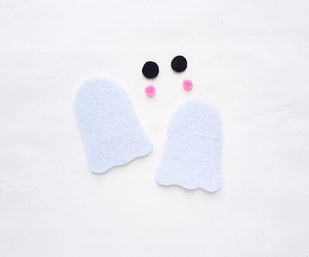 Cute Ghost felt plush craft patterns