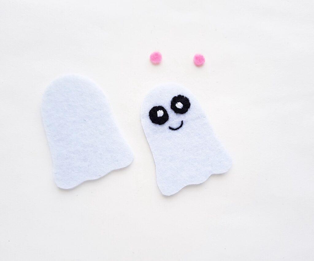 Cute Ghost felt plush patterns