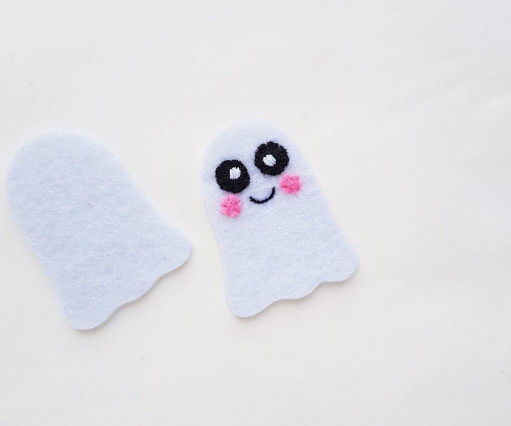 Cute Ghost felt plush pattern