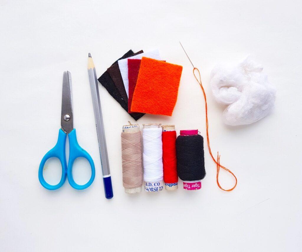 Felt Owl Plush Process Supplies