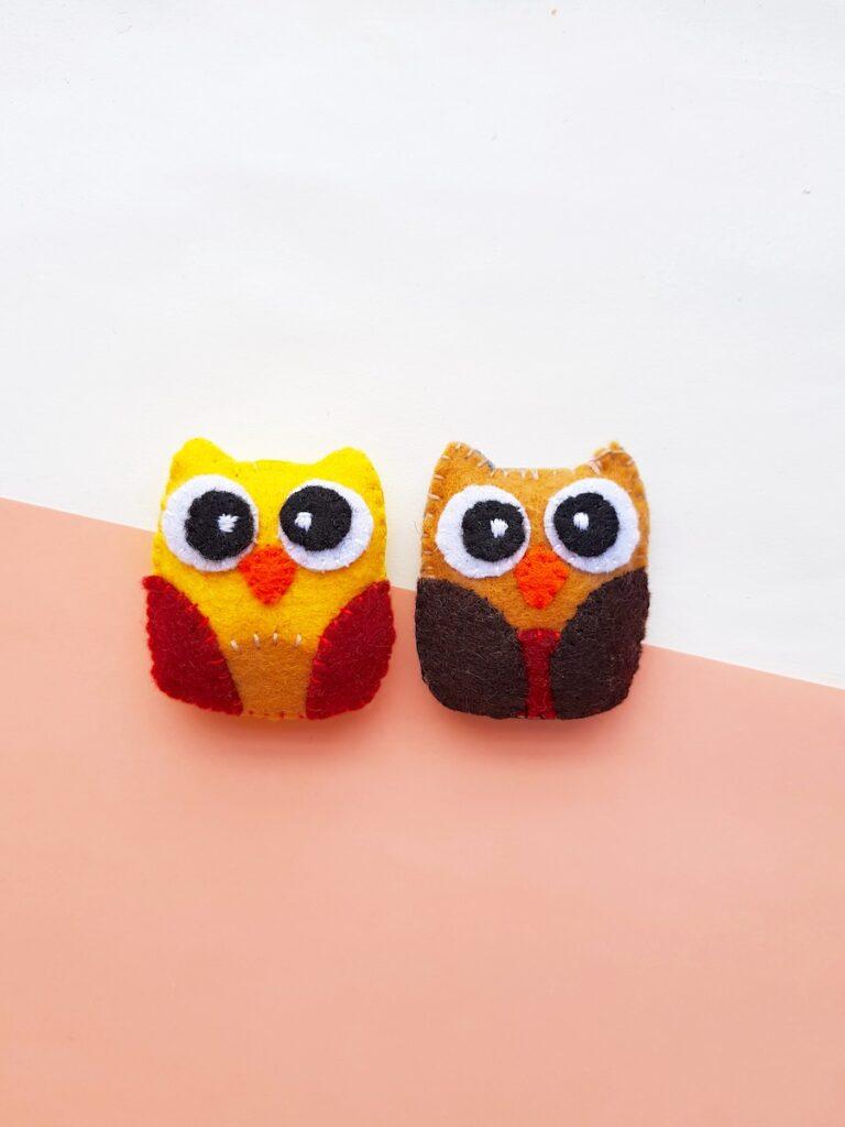 Felt Owl Plush toys