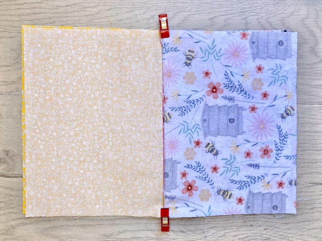 Lined Zipper Pouch Step 16