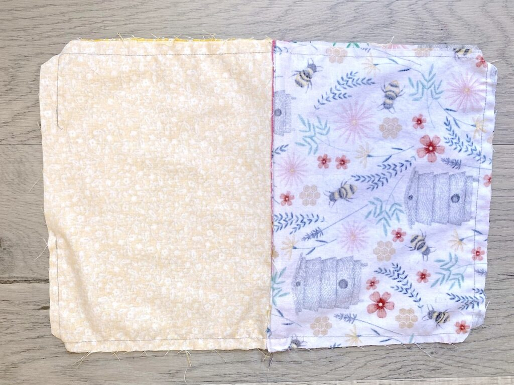 Lined Zipper Pouch Step 19