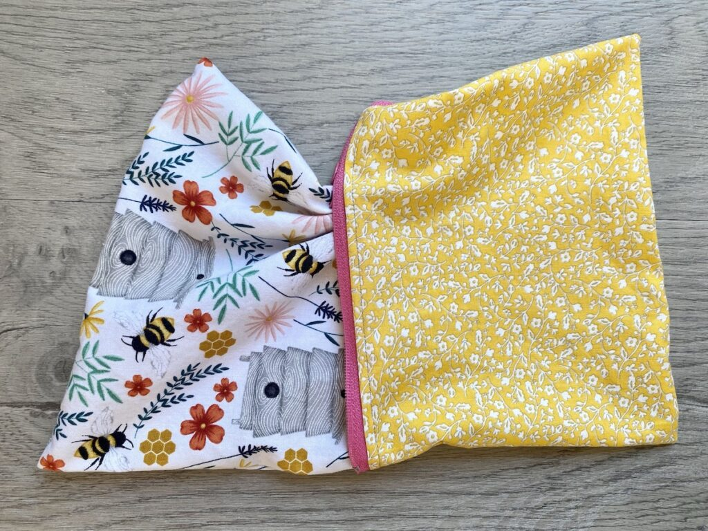 Lined Zipper Pouch Step 21