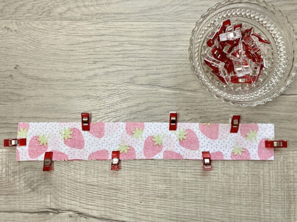 DIY Nail File Carrying Case step 2