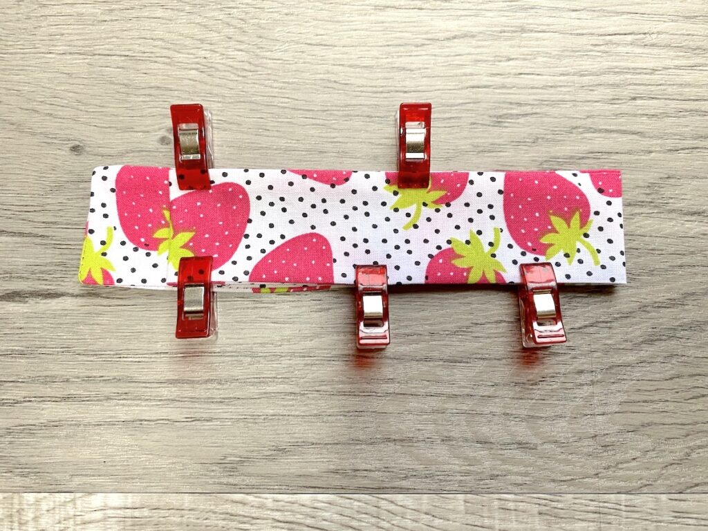 DIY Nail File Carrying Case step 8